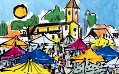 Marché de Producteurs locaux <br>Le Deschaux le samedi 7 septembre