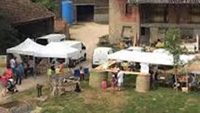 Marché de producteurs 2ème samedi du mois : Ferme de La Bussière